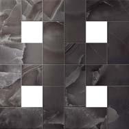 Black Agate Mosaic Lap / Блэк Агате Мозаика Лаппато