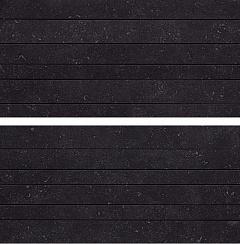 Black Mosaico Linea Mix2 /Комплект из 2 плиток/