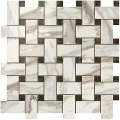 Calacatta Gold Twist Mosaic / Калакатта Голд Мозаика Твист