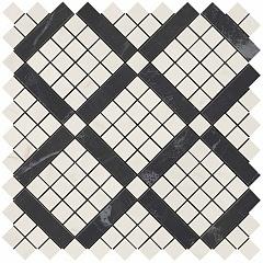 Cremo Mix Diagonal Mosaic (Cremo+Noir)