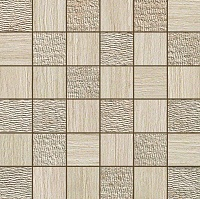 Travertino Almond Mosaico Mix