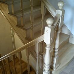 деревянные лестницы в Липецке