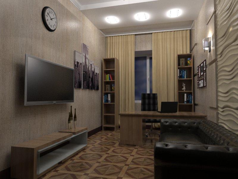 Современные технологии 3D в дизайне интерьера