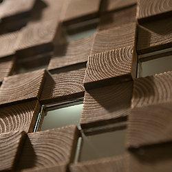 3D панель для отделки интерьеров любого назначения. Панели изготовлены из массива сосны, покрыты фирменным и экологически чистым составом на основе пчелиного воска. Подходят для помещений с высоким уровнем требований к экологичности отделочных материалов. Инкрустация зеркалом Размеры панели: 500х500 мм Цена 11.000 руб.