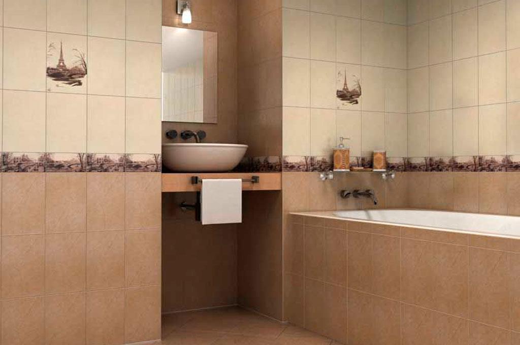 классическое оформление ванной комнаты