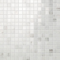 Calacatta Mosaico Lappato Полуполированная