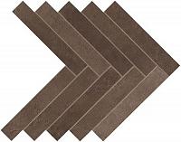 Декор Brown Leather Herringbone