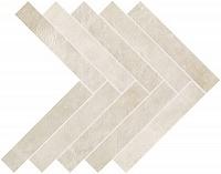 Декор Off White Herringbone