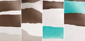 Декор Turquoise Mix4 / Комплект из 4 плиток