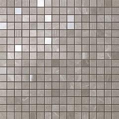 Grey Fleury Mosaic