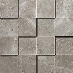 Grey Fleury Mosaico 3D Рельефная, для стен