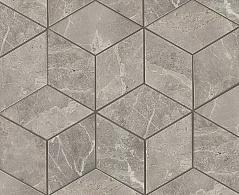 Grey Fleury Mosaico Esagono Lappato Полуполированная