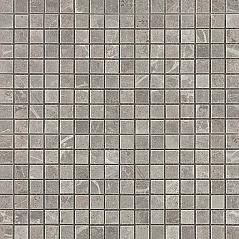 Grey Fleury Mosaico Lappato Полуполированная
