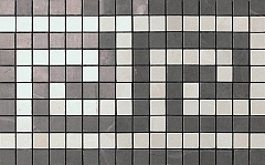 Мозаичный бордюр Grey/Moon Angolo Mosaico