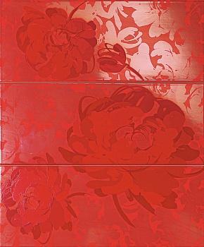 Панно Red Flower C3 / Рэд Флауэр С3
