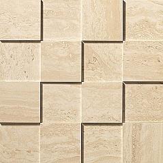Travertino Alabastrino Mosaico 3D Рельефная, для стен