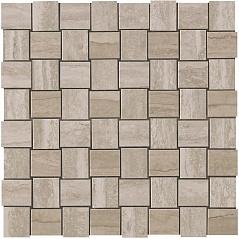 Travertino Silver Net Mosaic