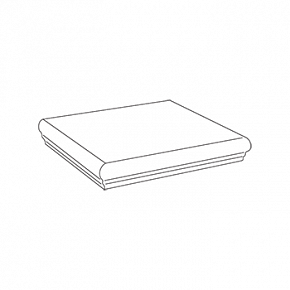 Угловая ступень Grey Scalino Angolare / Грей