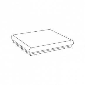 Угловая ступень White Scalino Angolare / Вайт