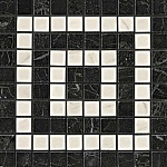 Угловой элемент Noir/Cremo Angolo Mosaico