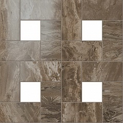 Woodstone Taupe Mosaic Lap / Вудстоун Таупе Мозаика Лаппато
