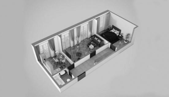 3Д планировки квартир и помещений